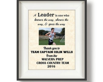 Thank You Gift for a Coach - Coaches Gifts - Team Captain Gift - Cross Country - Football - Track and Field  - Soccer -  Graduation Gift