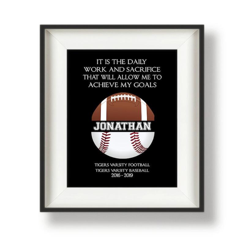 Gifts for Baseball Players  Baseball Graduation Gift  image 0