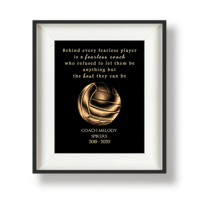 Volleyball Gifts for Coaches  Volleyball Coach Gift Ideas  image 0