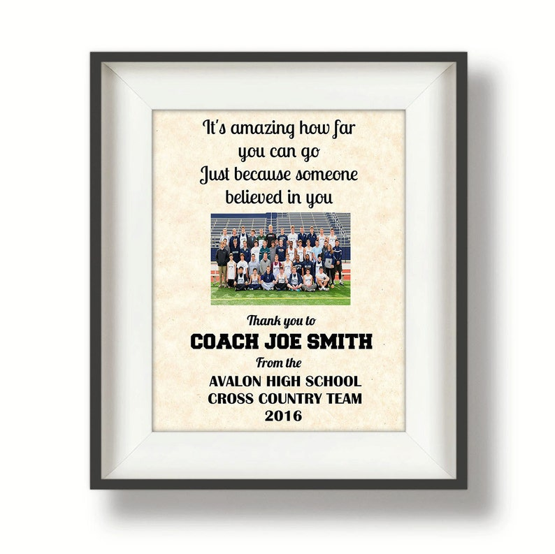 Gifts for Coaches  Coach Gifts  Thank You Coach  Cross image 0