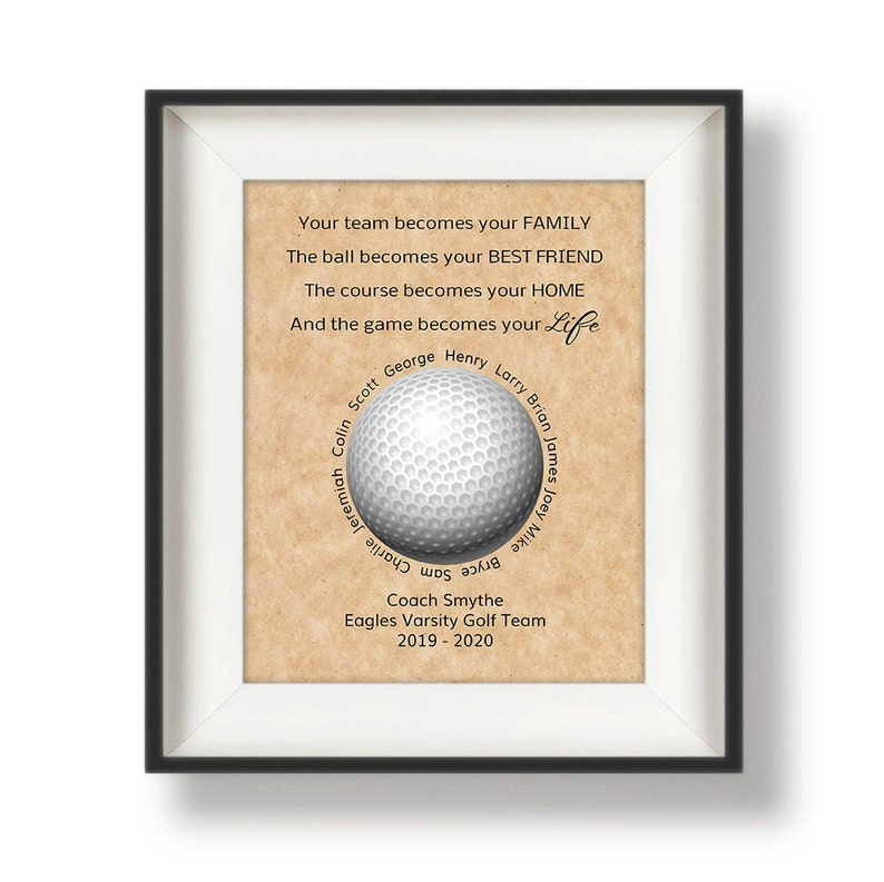 Golf Coach Gift Ideas  Golf Team  Gifts for Coaches  image 0