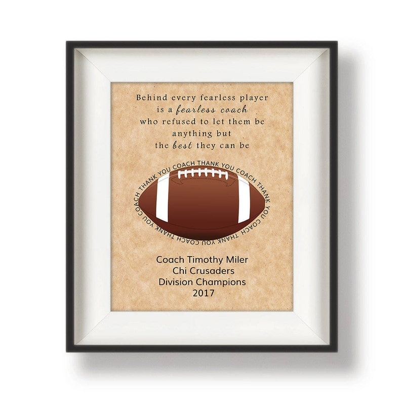 Coaches Gifts for Football  Gifts for Football Coaches  image 0