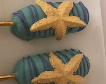 Under the Sea Chocolate Covered Twinkies