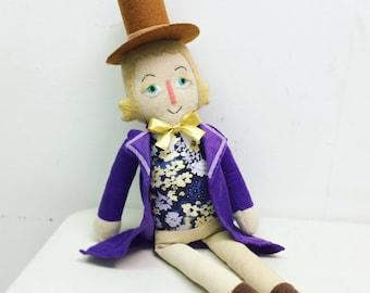 Soft Doll Willy Wonka