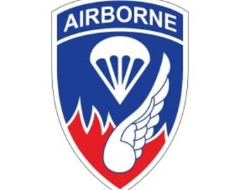 3S MOTORLINE 4 Torri Rakkasans Decal Sticker 101 Airborne 3 Brigade 187 Infantry red sda1 2
