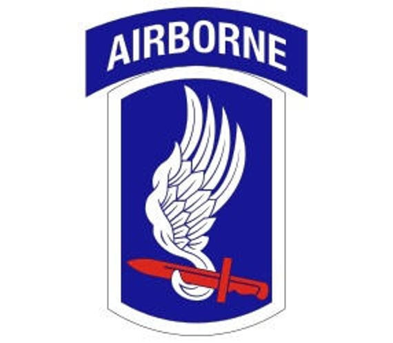 US Army 173rd Airborne Brigade Patch Vector Files dxf eps ...