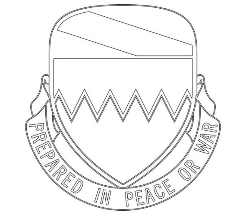 Us Army 115th Brigade Support Battalion Unit Crest Vector