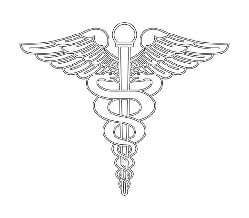 Us Army Medical Corps Branch Insignia Vector Files Dxf Eps