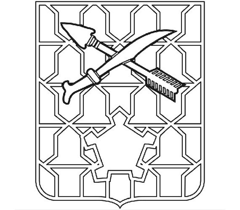 Us Army Unit Crest 16th Infantry Regiment Vector Files Dxf