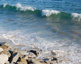 Ocean shore Photograph, nature photograph, natural life photograph, water photo, gift