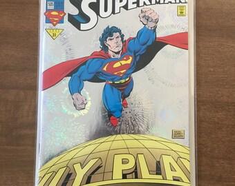 Super Man comic book, The Adventures of Super Man