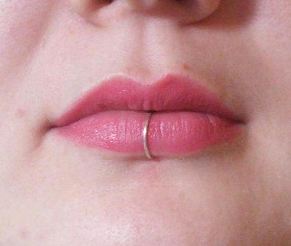 Geliebte Lip Ring Ring Silber Lippe Lippe piercing Lippe Schmuck   Etsy &BQ_77