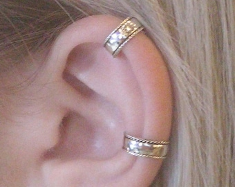 Ear cuff, Silver ear cuff, Ear cuffs, Earcuff, Ear wrap, Ear cuff earring, Ear jacket, Ear cuff non pierced, cuff, Cartilage cuff, Earcuffs