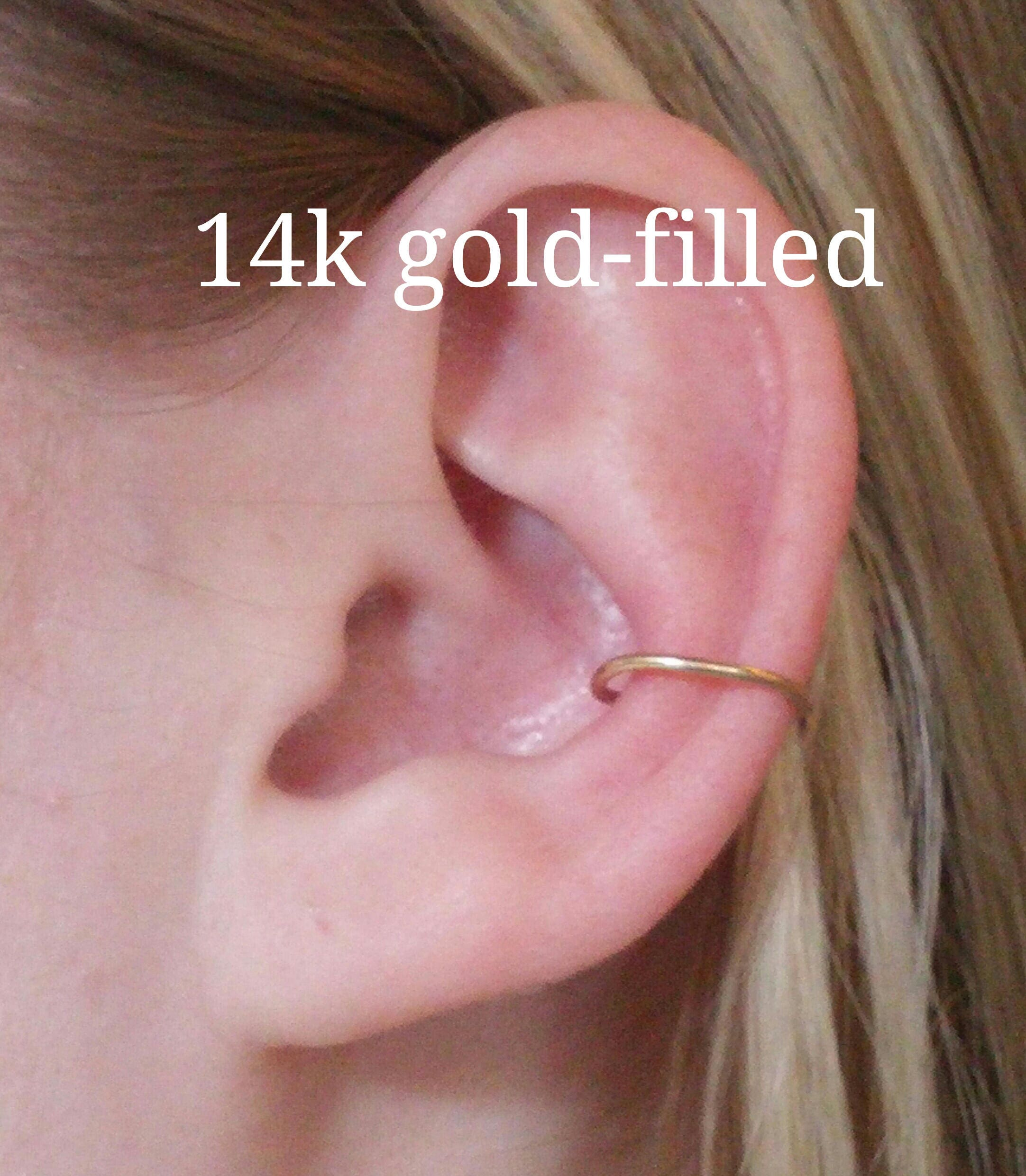Conch Earring Conch Piercing Conch Hoop Conch Piercing Etsy