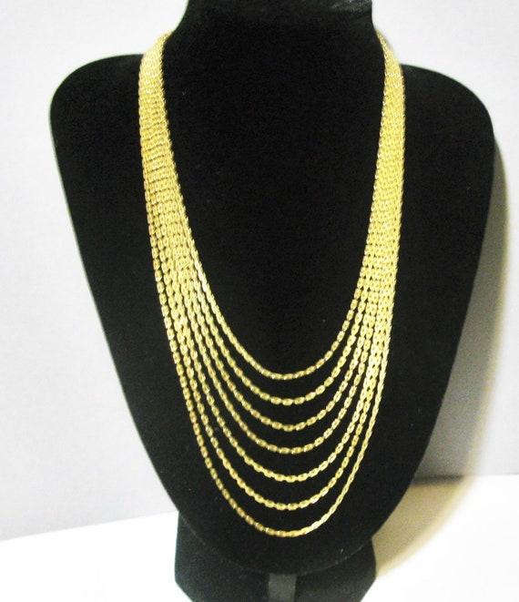 Kollmar & Jourdan Multi Strand Necklace Quality Mu
