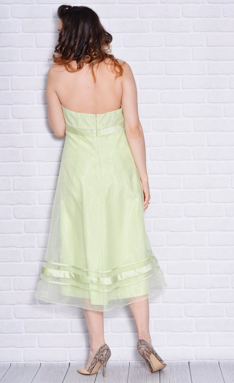 aa974abc106 Bridesmaid Dress Wedding Guest Willow Green Prom Dresses Thule