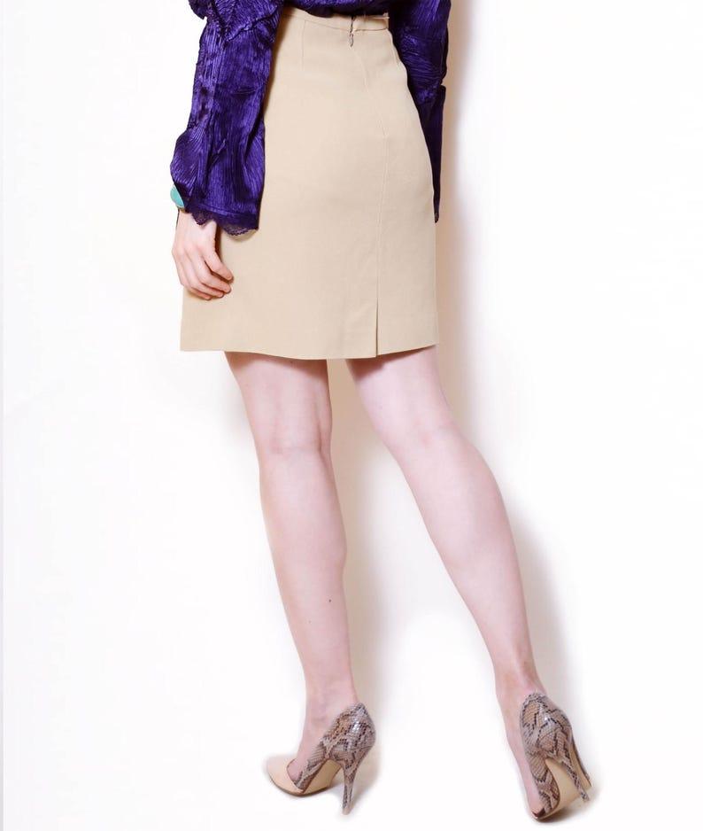 80s pencil skirt designer clothes formal office wear elegant  f151024c62e