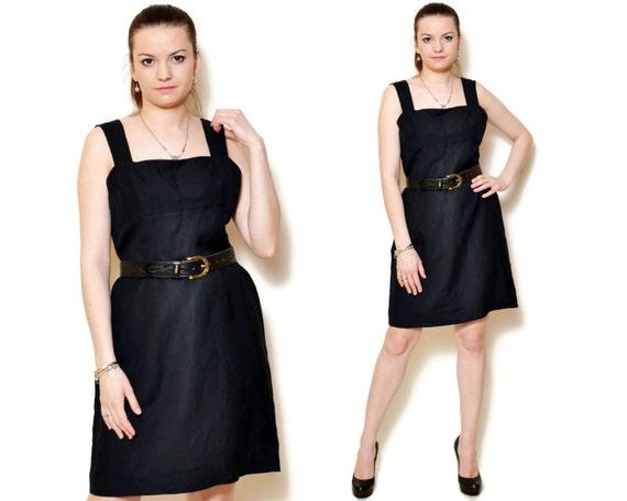90s sun dress sexy short black sundress linen dresses empire  abaec20ed