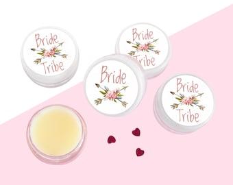 Bride Tribe Lip Balm Gloss Hen Party Wedding Favours UK