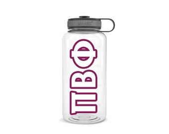 Pi Phi Sorority Gift Custom Pi Beta Phi Tumbler Water Bottle