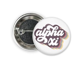 AXiD Alpha Xi Delta Cactus Trio Single or Bulk 2.25 Greek Pinback Sorority Button