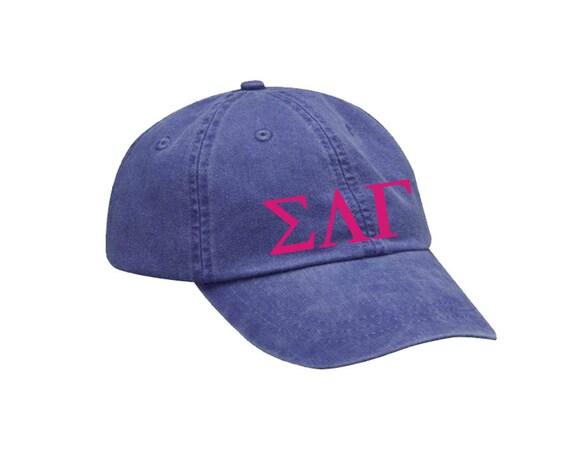 Sigma Lambda Gamma Emblem Hat