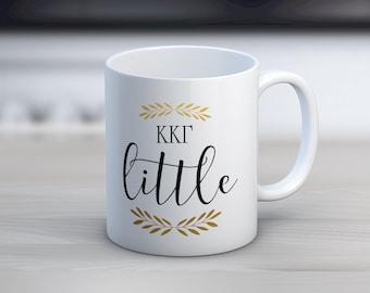 KKG Kappa Kappa Gamma Little Mug Sorority Coffee Mug