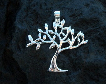 Sterling Silver Tree of Life Pendant - #442