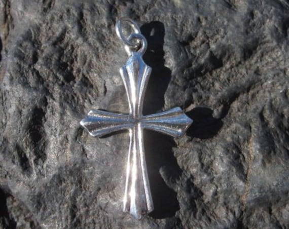 Sterling Silver Cross - #332