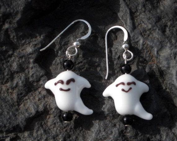 Ghost Earrings - Halloween