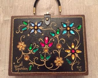 Vintage Enid Collins Jewel Garden 1965 box bag