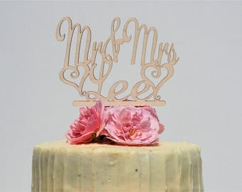 Mr and Mrs personalised Wedding Cake Topper, Personalized wedding caket, Personalised wedding cake topper, Mrs and Mrs, Mr & Mr