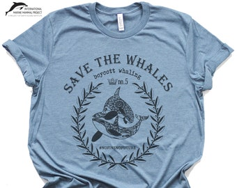 ab14eb00dfc2 SAVE THE WHALES Tee