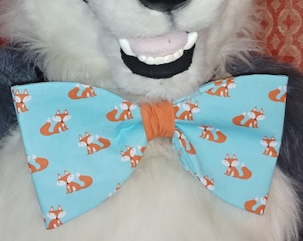 Foxes Mascot Bow Tie