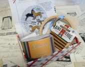 Sajou Gift Box Museum Heritage Bayeux Tapestry Cross Stitch Embroidery Kit- Hunting Dogs