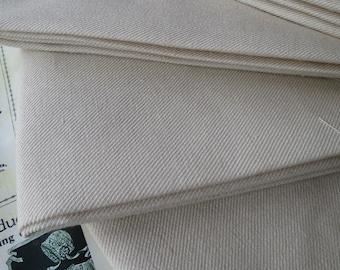 Tessuto grasso trimestre mano scozzese Twill lino ricamo Crewel tessuto - lavoro-tappezzeria