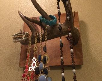 Antler Jewelry Holder