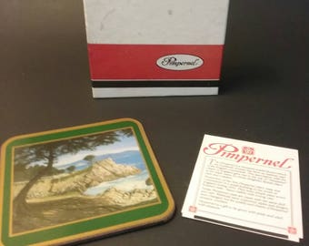 Pimpernel Coasters of Cypress Point Pebble Beach CA