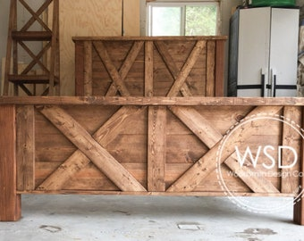 Rustic Bed Etsy