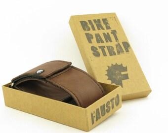 Bike Pant Strap Leather