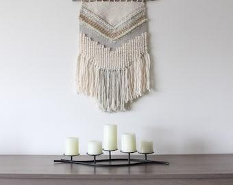 WEAVING / Woven Wall Hanging / Wall Art / Home Decor / Tapestry / Fiber Art