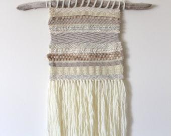 WEAVING Wall Hanging/ Woven Wall Hanging Fiber Art Wool Tapestry