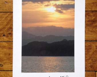 Sympathy Card, gray and gold waters, Comfort Card, Comfort, 4x6 photo art, photograph, photo card, May you feel God's comfort, hope