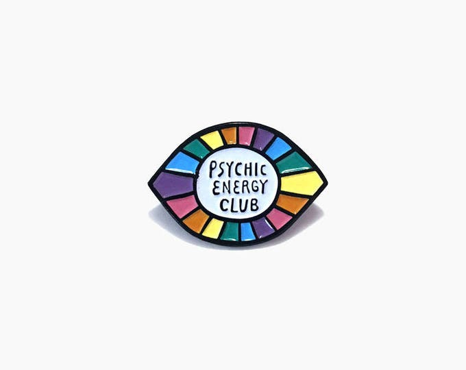 Psychic Energy Club Enamel Pin