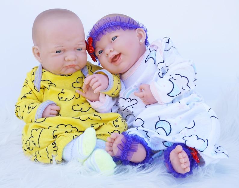 Twin Baby DollsReborn Baby Dolls Pouting Baby Doll | Etsy