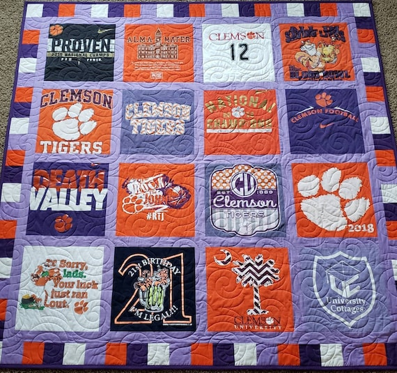 Tshirt Quilt Memory Keepsake T Shirt Quilts Made From Tee