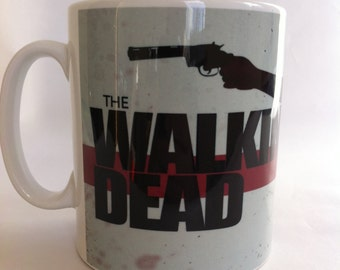 The walking dead Rick Grimes novelty mug,birthdat,gift 093