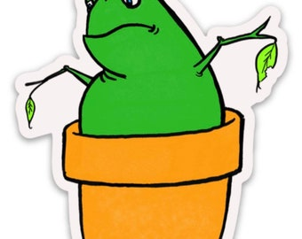 A Potted Frog