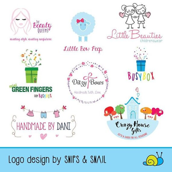 Logo Design Custom Logo Design Business Logo Craft Logo Etsy