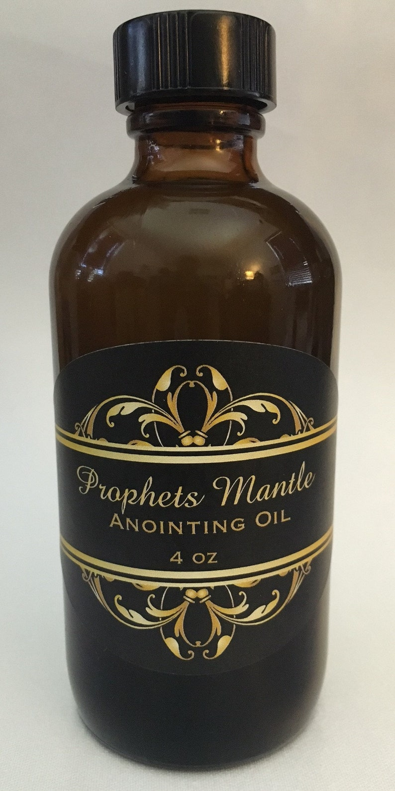 Prophets Mantle Anointing Oil in large 4 oz bottle